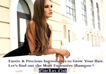 most expensive shampoo elitelux