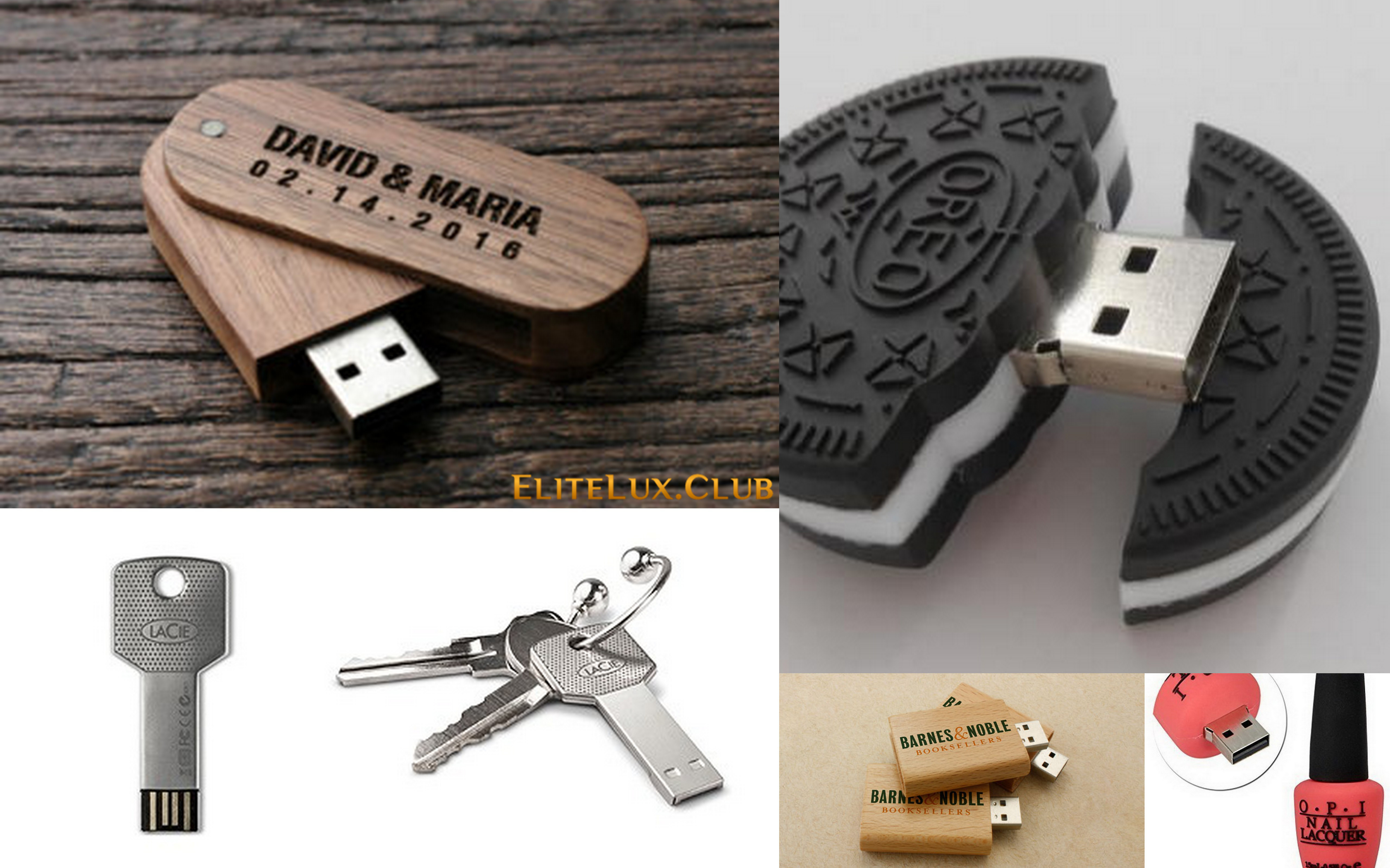 Cool Custom Printed USB Drives You May Want To See | Funny, Classy, Luxurious, Fancy Or Kinky ? Discover Today !