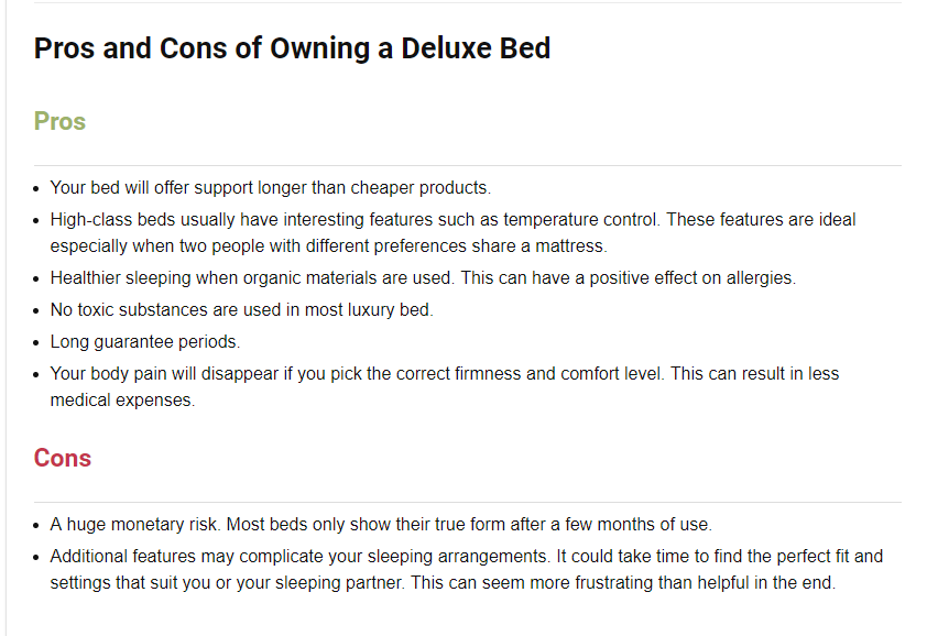 Top 5 Luxury Mattress Brands From Extremly Expensive To