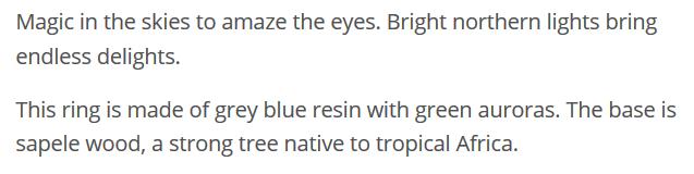 Aurora Borealis Description