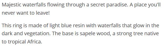 Azure Falls Description