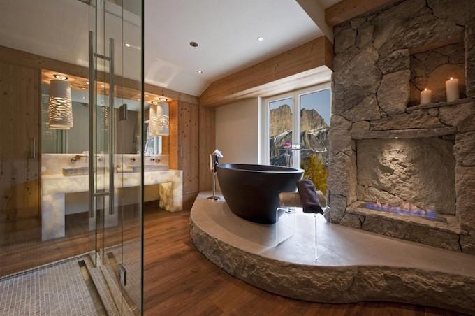 Oak luxury bathroom ideas