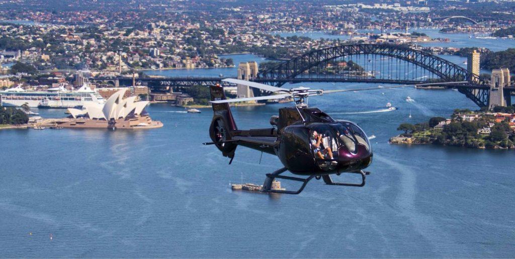 flying over sydney tour