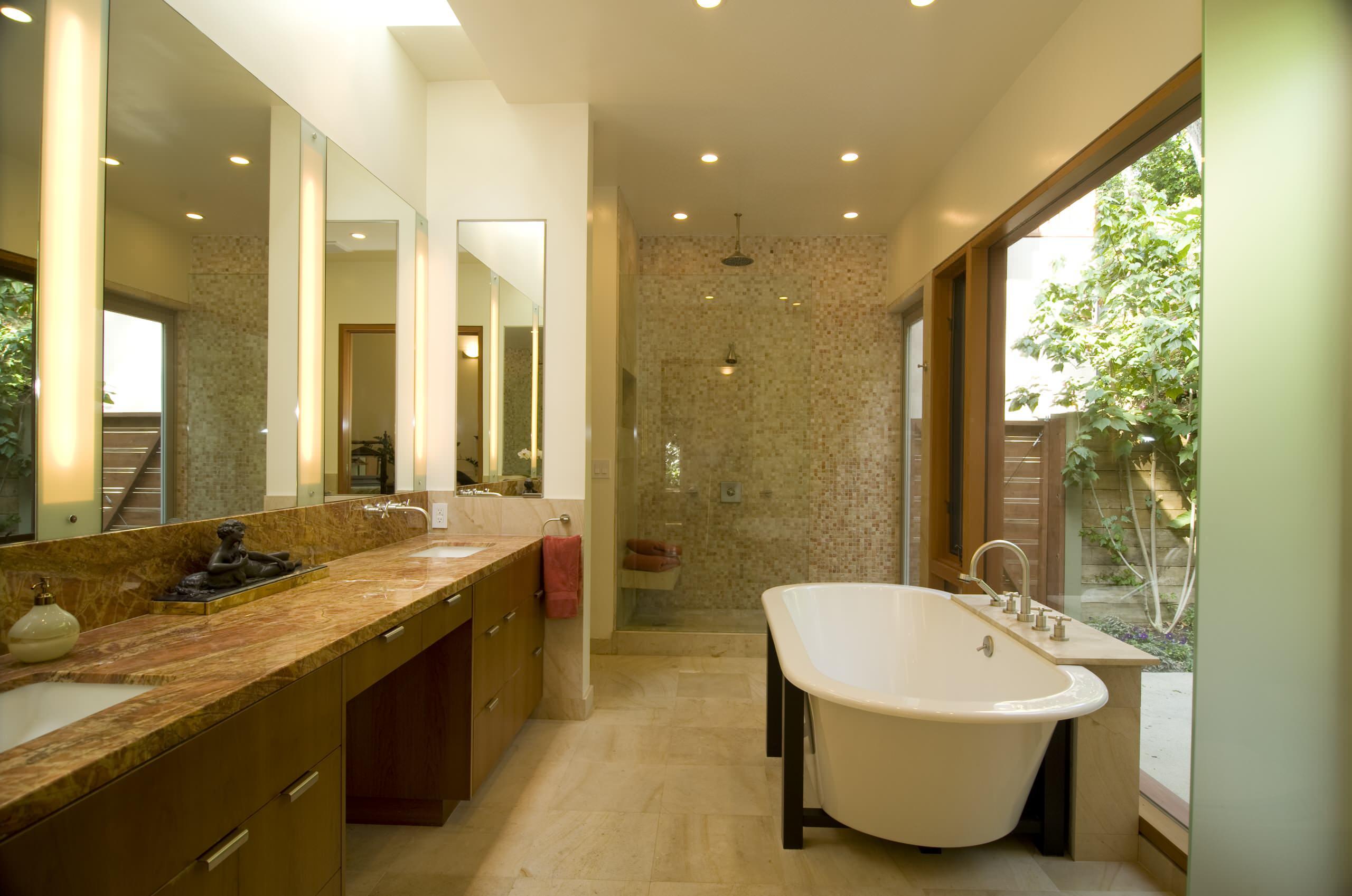Luxury Bathroom Contrast ideas