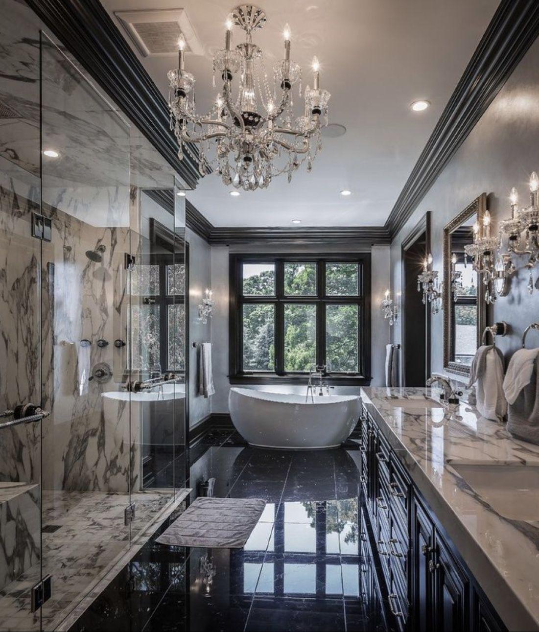 Luxury Bathroom Contrast