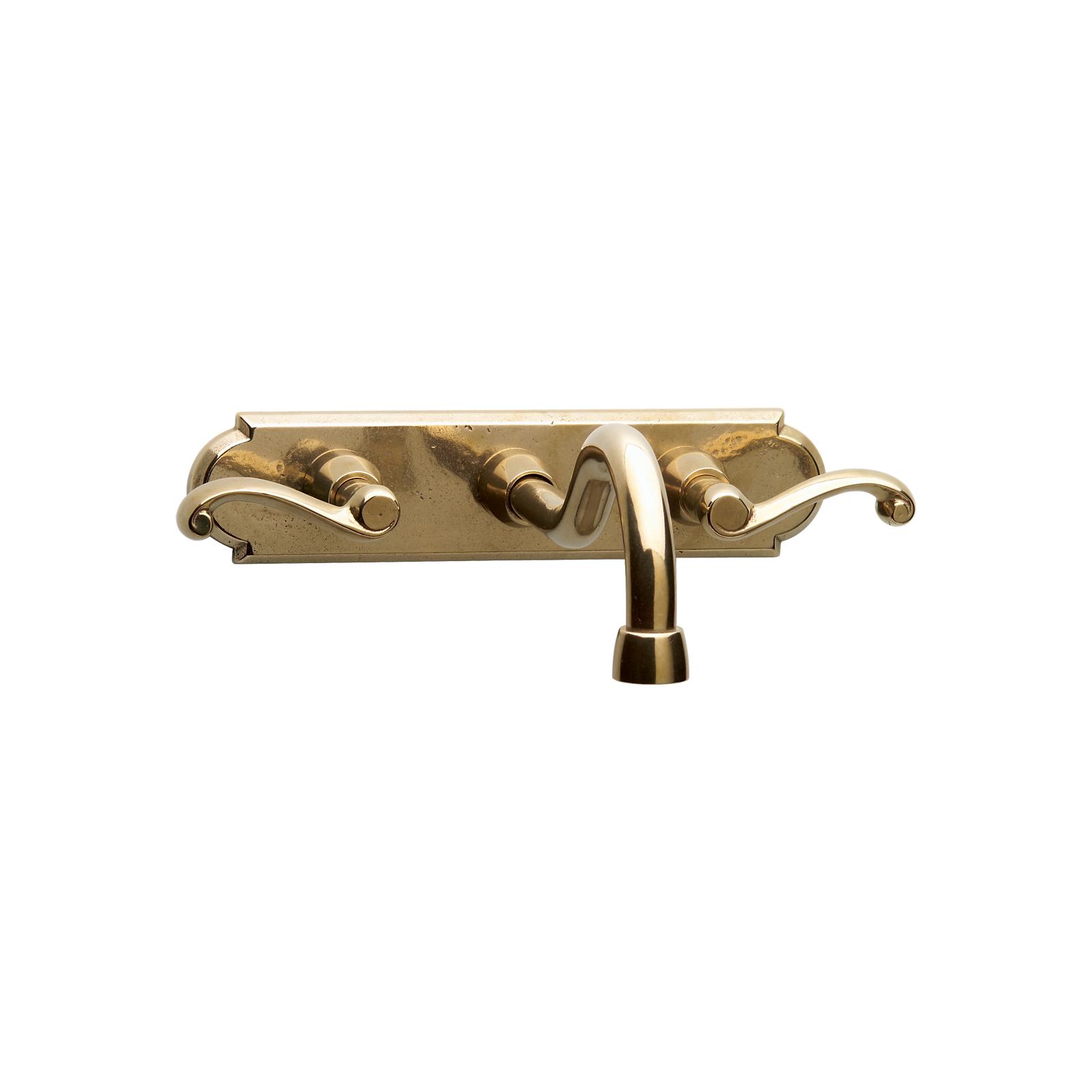 Wall Mount Faucet With Rectangular Escutcheon - design idea