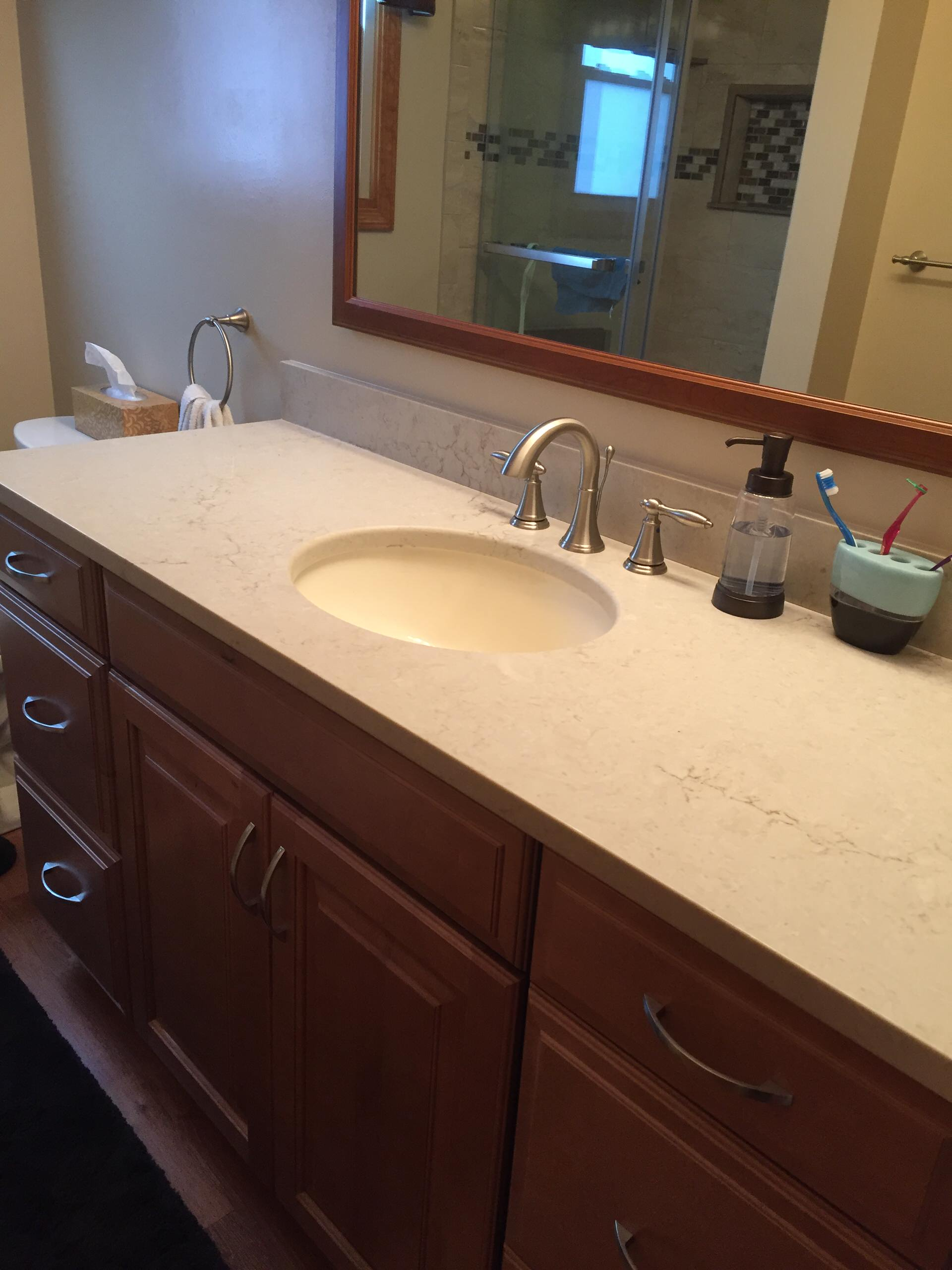 bathroom faucets with low maintenance - basic design