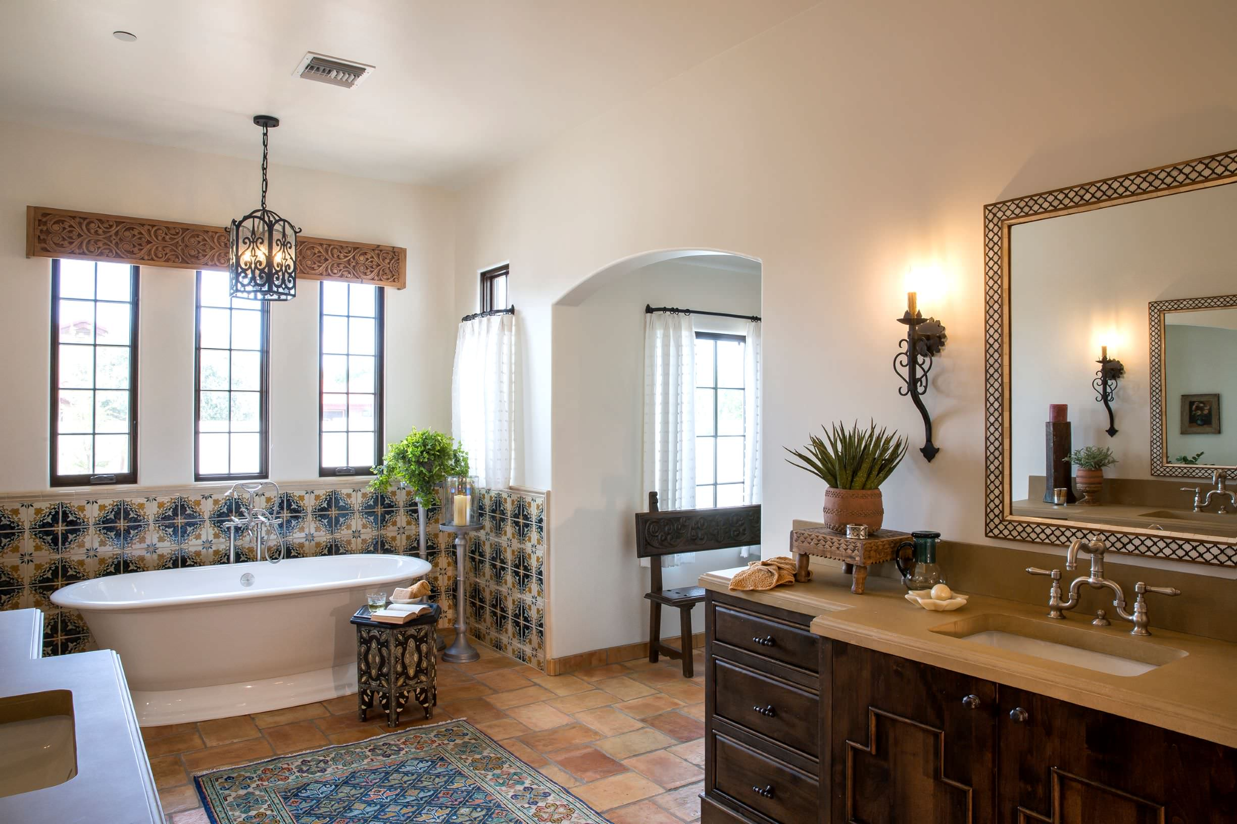 matching faucets with bathroom - beautiful design