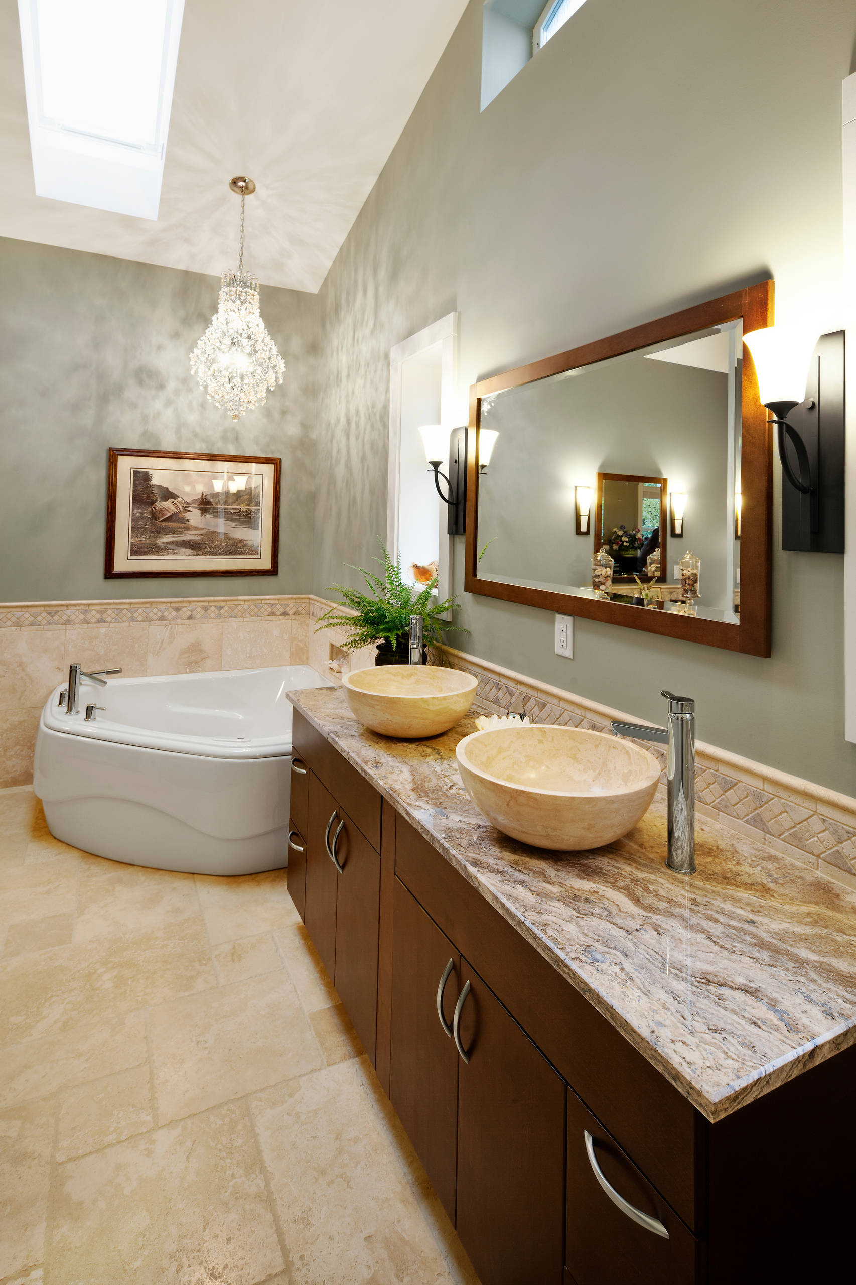 matching faucets with bathroom decor