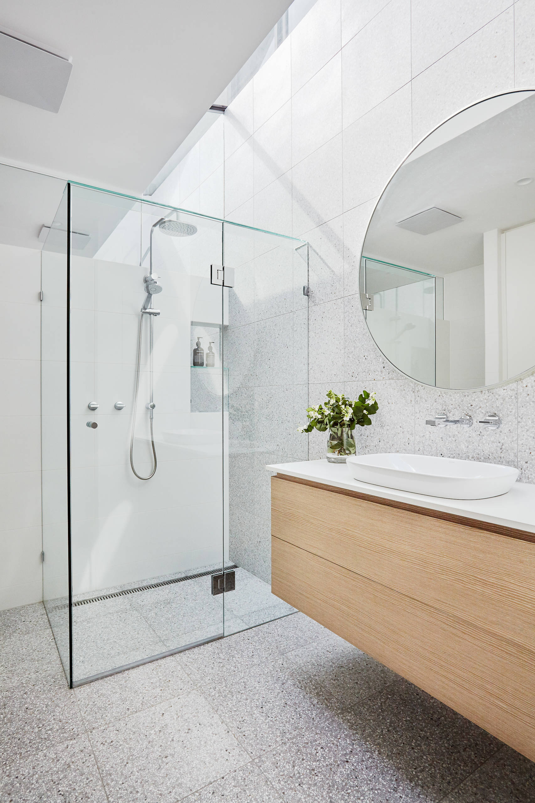 matching faucets with bathroom - modern