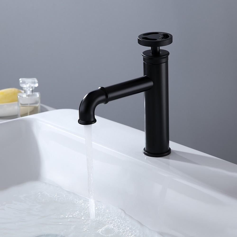 unique bathroom faucets - black mate