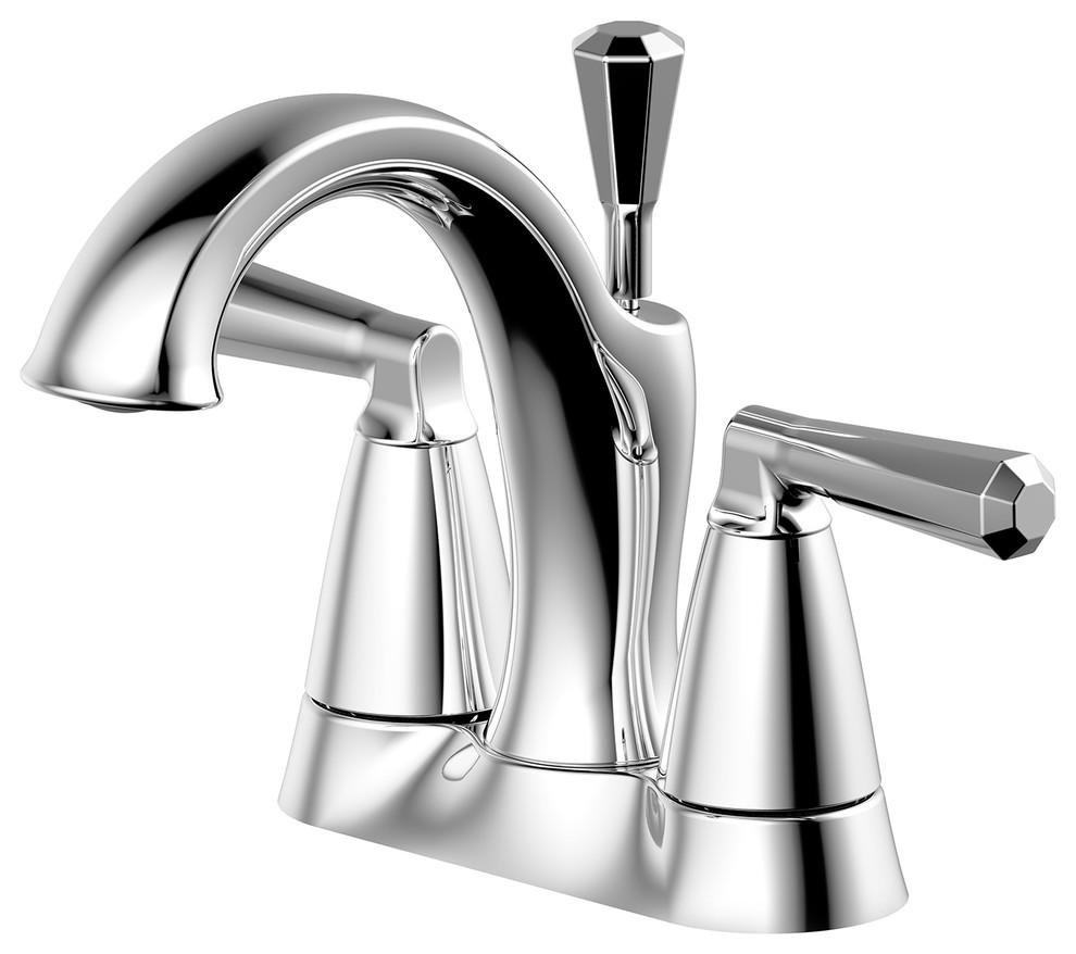 unique bathroom faucets - brass shank